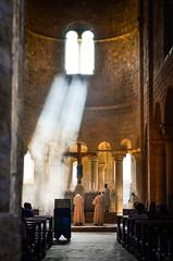 The Abbey of Sant'Antimo (Rubicon Explorer) Tags: italy church abbey catholic religion monk monastery tuscany montalcino catholicism santantimo abbaziadisantantimo castenuovodellabate