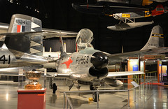 USAF_0295 North American F-86D Sabre (kurtsj00) Tags: museum north sabre american patterson wright usaf f86d