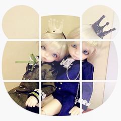 My little princes (ZephyrusSly) Tags: square doll bisou squareformat bjd fairyland pipi littlefee iphoneography instagramapp uploaded:by=instagram