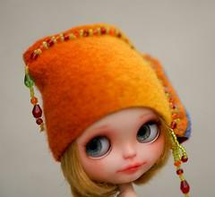 Blythe felted hat