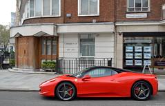 458 Italia (Robert DHJ) Tags: italy london cars car photography italian italia photographer automotive super ferrari hyper modena mid supercar v8 supercars carspotting 458 engined autoitalia hypercar hypercars