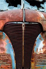 truck close (creativegenius5) Tags: junk rust junkyard autos rustycars
