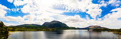 Muckross Lake (WDLandry) Tags: park ireland sky stilllife sun nature sunshine clouds photo nikon muckross killarney d7100 365daysofphotos uploaded:by=flickrmobile flickriosapp:filter=nofilter