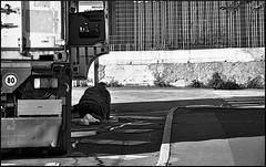 Stop for prayer (morenofrulla) Tags: street city people urban blackandwhite bw white black monochrome nikon prayer streetphotography streetlife genoa genova ontheroad biancoenero nikond90 stopforprayer morenofrulla