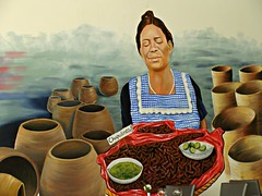 Chapulines (knightbefore_99) Tags: west art mexico coast cool mural market sunny playa mexican oaxaca tropical local secrets huatulco crickets chapulines