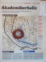 """Heldenplatz """"an apple a day keeps the doctor away - An ENSO (Japanese: circle) a Day ..."""" 30. Jänner 2015: Map: Student Fraternity Ball and Counter-Demonstration - Plan Burschenschafterball """"Akademikerball"""" - linke und antifaschistische Gegendemonstration"""