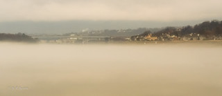 Morning Fog of Tennessee River