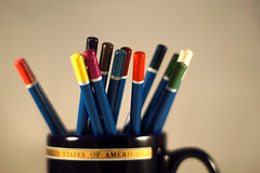 Colors. Testing a Minolta 50mm f1.7 (LuckyEyes) Tags: colors 50mm minolta 17 lens a6000 sony alpha legacy manual focus pencils