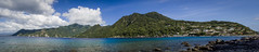 Scotts Head to Roseau (thesweetwoods) Tags: blue panorama dominica roseau soufriere scottshead