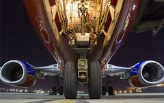 Nosewheelin' (RaulCano82) Tags: closeup plane airplane airport texas tx jet houston landinggear boeing southwestairlines htown swa boeing737 htx southwestair houstonhobby raulcano swapic