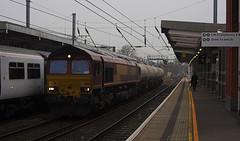 66155 at Ipswich (tibshelf) Tags: ipswich dbs class66 66155