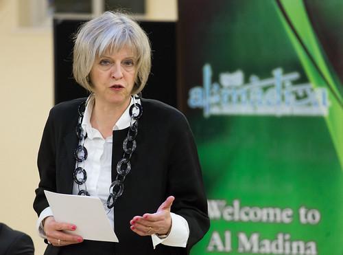 From flickr.com: Theresa May visits Al Madina Mosque {MID-116932}