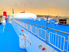 Top Deck (Irvine Kinea) Tags: world voyage travel bridge cruise pope station saint ferry john paul island restaurant cafe stem cabin ramp asia ship fiesta state desk room horizon philippines arcade vessel super front tourist class hallway lobby deck gaming alleyway tatami vip trips hippo mast value suite accommodation tours stern propeller console augustine economy navigation charging rudder nn mega negros ats aft forecastle amenities 2go nenaco