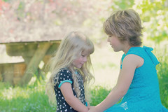 Sisters (Photography.by.Sara) Tags: family portrait love nature children photography nikon child sister innocent dslr