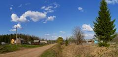 (theonicsolo) Tags: panorama village russia  antsiferovo