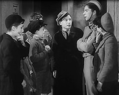 Extra acting (theirhistory) Tags: uk london film boys hat kids children war wwii kinderen tie crime jacket cap gb ww2 jumper 1942 adults villians bfilm johntacchi