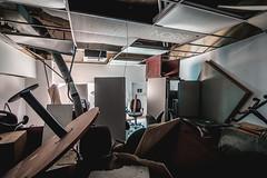 (JugglerNorbi) Tags: urban canada abandoned office quebec decay exploration destroyed hdr highdynamicrange urbex hdrquebec