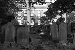One morning Two Bronte Parsonages (Richard Needham) Tags: literature drama westyorkshire haworth bronteparsonage haworthcemetery houseswriters housesbronte countrytelevison
