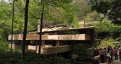 Fallingwater (Anita363) Tags: house architecture pennsylvania franklloydwright pa wright fallingwater nationalhistoriclandmark nationalregisterofhistoricplaces stewarttownship