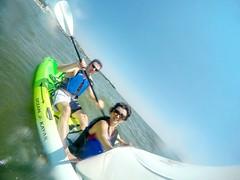 Happy Kayaking (AngelBeil) Tags: water adventure kayaking northbeach calvertcounty