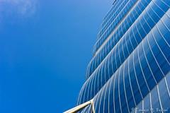 DSC00090b (tomaso.belloni) Tags: city blue windows sky urban italy house milan color building skyscraper outdoors photography europe exterior outdoor milano citylife nobody