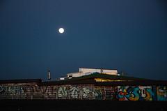 moonlight (simona.photo) Tags: sky moon nikon moonlight bluehour d7000
