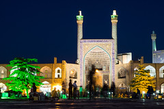 Ghosts (Martin Tsvetkov) Tags: travel architecture photography lights iran perspective mosque wallpapers isfahan shah