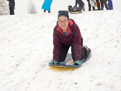 snow day (dolanh) Tags: winter snow renee sledding clintonpark southeastportland mttaborneighborhood