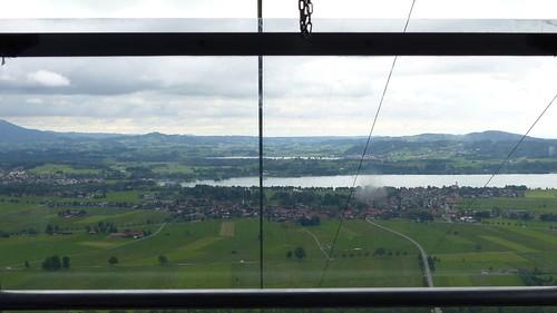 Blick zum Forggensee von der Tegelbergbahn