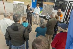 Describing the project at the Woodburn Interchange (OregonDOT) Tags: i5 legislature interstate5 woodburn legislators oregondot willamettevalleyi5corridortour