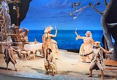 """Scene photo of """"L'Osteria di Marechiaro"""" by Giovanni Paisiello (Taranto 1740-Naples 1816), staged on 1768 in Naples, Teatro dei Fiorentini, recently (2011) at San Carlo Theatre in Naples - Costume-designer Odette Nicoletti - Exhibition at """"MeMus""""=Memory a (Carlo Raso) Tags: music opera memus sancarlotheatre giovannipaisiello odettenicoletti teatrodeifiorentini"""