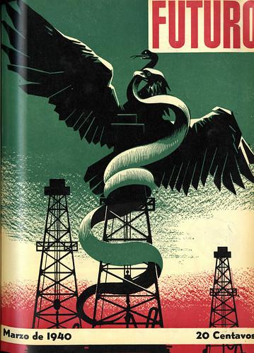 Portada de Josep Renau Berenguer para la Revista Futuro (marzo de 1940)