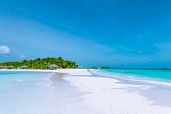 Paradise Island Resort (meykaabe) Tags: ocean blue sea sky white beach beauty island paradise sandy resort maldives whitesand clearsky paradiseislandresort sunnysideoflife