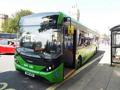 SN16 OOU (26042) (brendan315) Tags: park new bus green ride 200 pr 16 winchester brand mmc reg stagecoach parkandride enviro enviro200mmc e200mmc 16reg