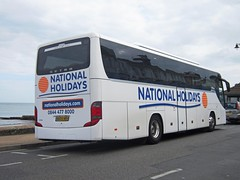 National Holidays of Hull Fleet No.160 NH09MRH (rear) (harryjaipowell) Tags: holiday bus coach tour isleofwight 20 hull 2009 shanklin iow setra 160 shearings anlaby nationalholidays c49ft kassbohrersetra shanklinesplanade s415gthd nh09mrh