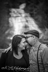 (kluskieandwellsphotography) Tags: cute love water canon waterfall pond kissing couple pretty rustic ithaca canoncamera 650d t4i