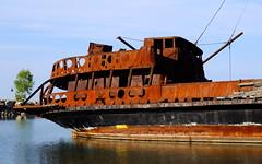 Shipwreck Jordan Harbour (robinkrumins) Tags: shipwreck jordan jordanharbour water ontario canada scenic rust ruins lagrandehermine lake lakeontario lakeshore