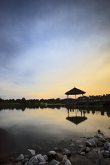 Sunset (Kevin KY Fan) Tags: longexposure sunset landscape evening singapore dusk slowshutter lowerpeircereservoir 10stopfilter kevinkyfan cmeptb72