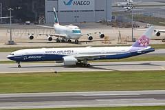 B-18007 B777-309ER, China Airlines (Flyboy104) Tags: cal ci hkg b777 vhhh ahkgap b18007