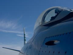 airplane shape (Ruud Otter) Tags: abstract museum aircraft sabre f86 fighterplane abstractsoestnederland