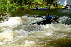 DSCF8288 (Lumire du soir) Tags: canoe correze kayack treignac comptition
