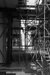 Maximabrug-602-b&w (leoval283) Tags: architecture river concrete construction roads viewing architectuur alphenaandenrijn alphen bezichtiging ouderijn dagvandebouw maximabrug maximabridge