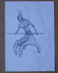 Hand Man (The Eloglu) (mefefirat) Tags: art tattoo illustration pencil ink pencils sketch artist arty arte drawing sketching arts drawings sketchbook sketchs draw draws inked pencilart pencildrawing handman eloğlu eloglu