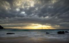 Sunrise @ Whale Beach (Colin_Bates) Tags: beach sunrise surf waves beaches whale sunrays northern