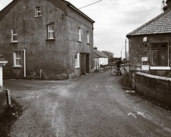 Irish Village (Costa Rica Bill) Tags: street blackandwhite irish village tranquility quaint quietmoments iphoneography vscocam
