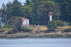 Georgina Point Lighthouse, Mayne Island, B.C. (Neal D) Tags: lighthouse bc activepass mayneisland georginapointlighthouse