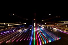 Plaza de Osorno (La Mala Testa) Tags: light shadow red black color colour luz bulb luces noche rojo catedral contraste gloom dslr formas experimento bombilla plazadearmas nocturno oscuridad osorno obscurity benedetti ampolleta darknnes