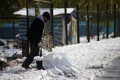 Nieve en el Cajn del Maipo (Andri Pree) Tags: chile santiago nieve turistas cajondelmaipo