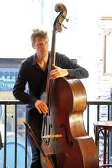 Sanne van Delft 7460-4_9223 (Co Broerse) Tags: music composedmusic contemporarymusic jazz amsterdam 2016 cobroerse redlightjazzfestival renvanbeeckampfriends sannevandelft doublebass depaerl brouwerijdepaerl