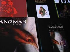 favourite comics (_omnivore_) Tags: comics sandman hellboy mystuff neilgaiman bprd mikemignola hugenerd sandmanabsoluteeditions